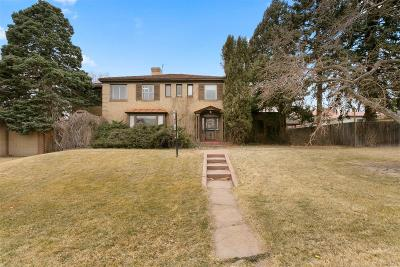 Denver CO Single Family Home Active: $1,080,000