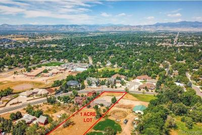 Arvada Residential Lots & Land Under Contract: 6350 Oberon Road