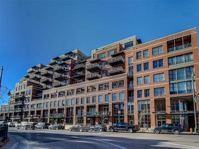Denver Condo/Townhouse Active: 1499 Blake Street #4N