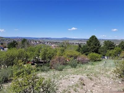 Castle Rock Residential Lots & Land Active: 115 Hill Drive