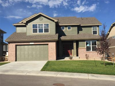 Castle Rock Single Family Home Under Contract: 411 Sage Grouse Circle