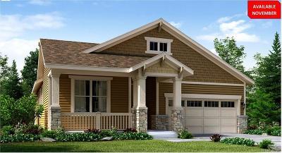 Parker Single Family Home Under Contract: 14815 Munich Avenue