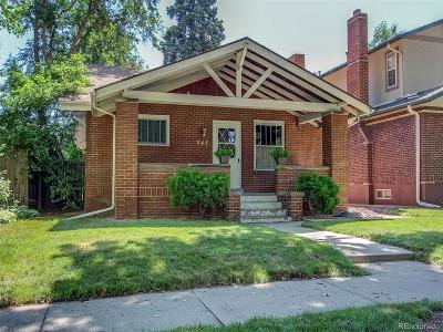 Denver Single Family Home Active: 848 South Corona Street