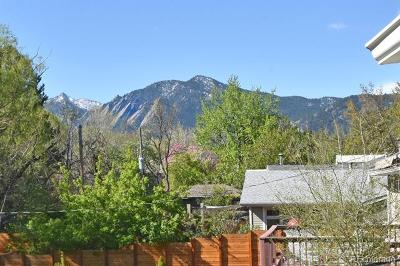Boulder Single Family Home Under Contract: 3570 Cloverleaf Drive