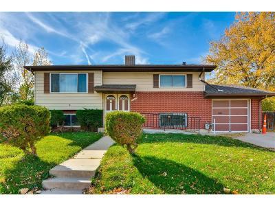 Northglenn Single Family Home Under Contract: 11467 Larson Lane