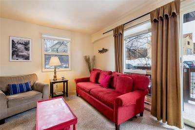 Steamboat Springs CO Condo/Townhouse Under Contract: $295,000