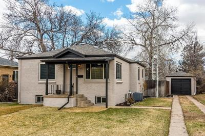 Denver Single Family Home Active: 1270 Jersey Street