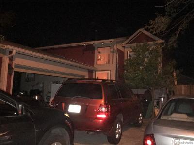 Aurora, Denver Single Family Home Under Contract: 18879 East Carmel Circle