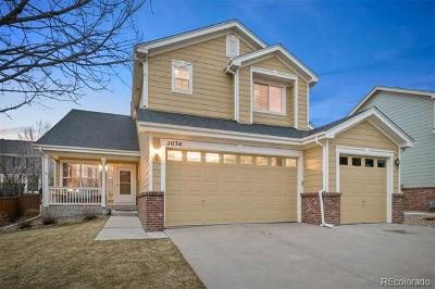 Erie Single Family Home Active: 2034 Lodgepole Drive