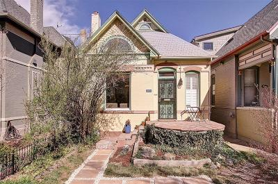 Denver Single Family Home Active: 1250 Gaylord Street