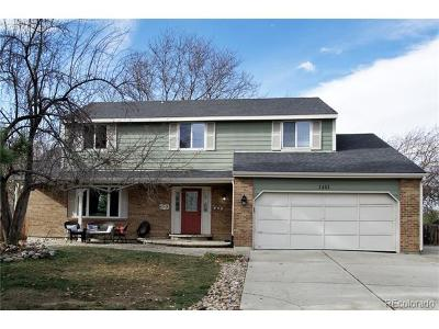 Arapahoe County Single Family Home Active: 1441 East Long Place