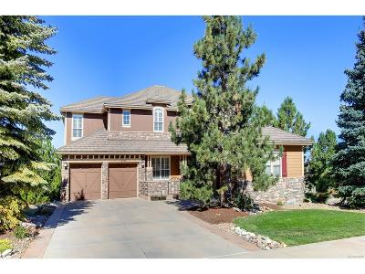 Castle Pines Single Family Home Active: 6761 Mary Court