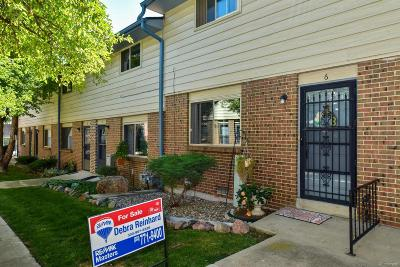 Arvada Condo/Townhouse Under Contract: 5250 Garrison Street #6