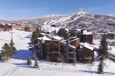Steamboat Springs CO Condo/Townhouse Active: $195,000