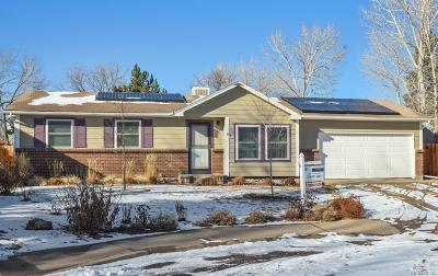 Broomfield Single Family Home Under Contract: 12571 Meade Court