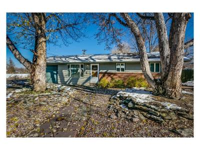 Longmont Single Family Home Under Contract: 1050 Tulip Street