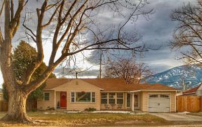 Salida Single Family Home Under Contract: 303 Poncha Boulevard
