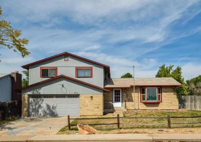 Thornton Single Family Home Under Contract: 3595 East 115th Avenue