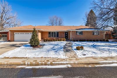 Denver Single Family Home Active: 2754 South Milwaukee Street