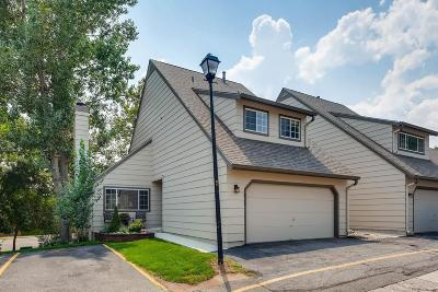 Littleton Condo/Townhouse Under Contract: 10586 East Park Mountain