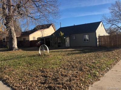 Commerce City Single Family Home Active: 5418 East 61st Way