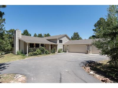 Elbert County Single Family Home Under Contract: 35801 Darting Bird Ride