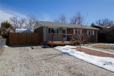 Westminster Single Family Home Under Contract: 7260 Winona Court