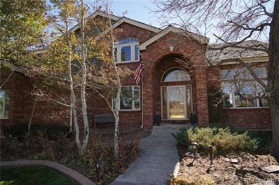 Arapahoe County Single Family Home Active: 21166 East Euclid Drive