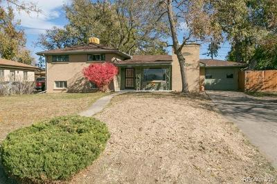 Wheat Ridge Single Family Home Active: 4420 Brentwood Street