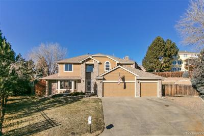 Westminster Single Family Home Active: 10911 Zephyr Court