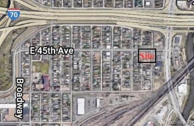 Denver Residential Lots & Land Active: 4401 North Pearl Street