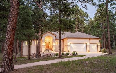 Colorado Springs Single Family Home Active: 20125 Wissler Ranch Road