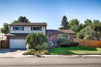 Lakewood Single Family Home Active: 9278 West Wesley Drive
