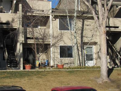 Arvada Condo/Townhouse Under Contract: 7825 Barbara Ann Drive #H