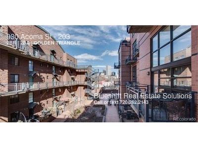 Denver Rental Active: 930 Acoma Street #203