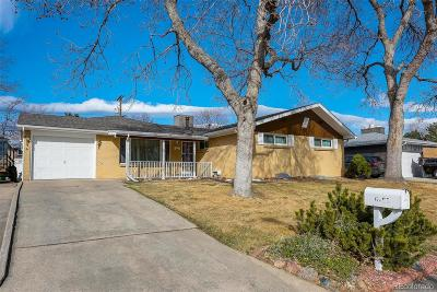 Arvada Single Family Home Under Contract: 6755 Zephyr Street