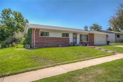 Denver Single Family Home Active: 3606 South Holly Street