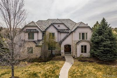 Highlands Ranch Single Family Home Active: 152 Fairchild Place