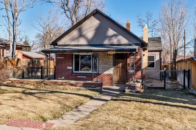 Single Family Home Active: 5053 West 36th Avenue