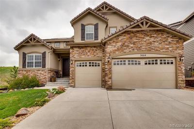 Castle Rock Single Family Home Active: 2664 Trailblazer Way