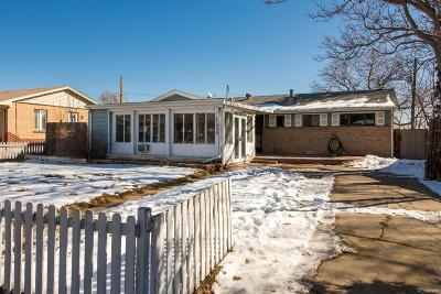 Westminster Single Family Home Under Contract: 7930 Green Court