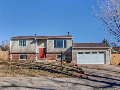 Castle Rock Single Family Home Active: 1210 Greenwood Lane