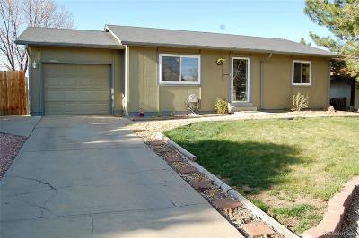 Broomfield Single Family Home Under Contract: 13480 Alcott Way