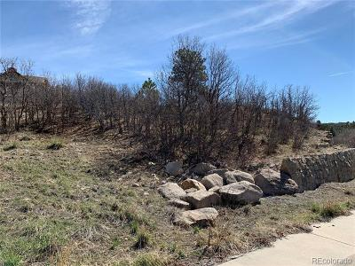 Castle Rock Residential Lots & Land Active: 2227 Peak Vista Court