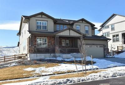 Arvada Single Family Home Active: 19434 West 85th Bluff