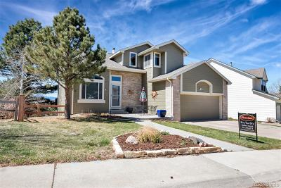 Castle Rock CO Single Family Home Under Contract: $435,000