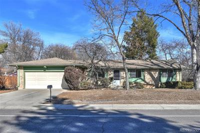 Arvada Single Family Home Under Contract: 11963 West 71st Avenue