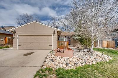 Evans Single Family Home Under Contract: 3402 15th Avenue