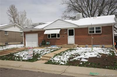 Northglenn Single Family Home Active: 11262 Lafayette Street
