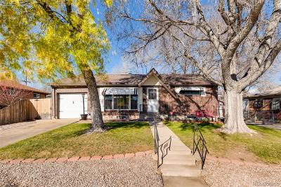Northglenn Single Family Home Active: 125 Linda Sue Lane